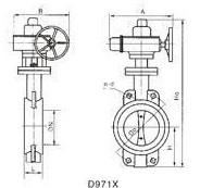 电动蝶阀d971x